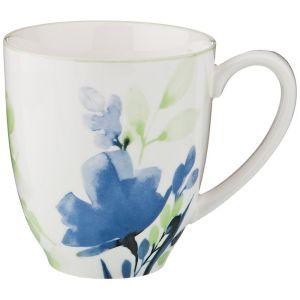 Купить Кружка Арти М 410-107 Aquarelle 400 мл цвет белый/голубой/мятный