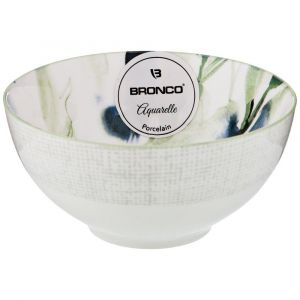 Купить Салатник Арти М 410-106 Aquarelle 12 см цвет белый/голубой/мятный