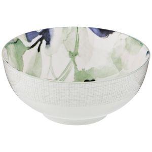 Купить Тарелка суповая Арти М 410-104 Aquarelle 16 см цвет белый/голубой/мятный