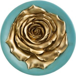 Купить Панно Арти М 251-339 27*27*4,5 см цвет бирюза/золото