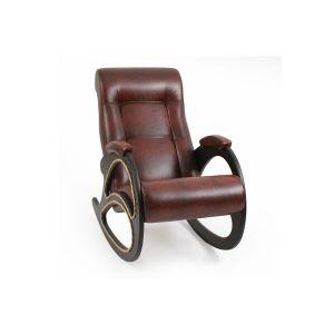 Купить Кресло-качалка Мебель Импэкс Комфорт м.4 цвет венге/antik crocodile