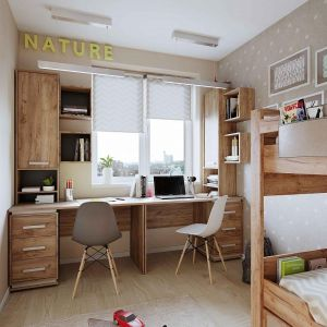 Купить Стол письменный ГМФ ГМФ-Nature 84  Стол  (Дуб табачный Craft-Мокко) цвет дуб табачный craft/мокко