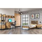 Кровать АСМ-Модуль АСМ-Гранд  кровать 900 с основанием Дуб Вотан цвет дуб вотан