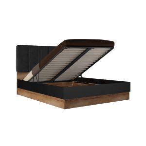 Купить Кровать АСМ-Модуль К2 180*200 с подъемным механизмом Рамона цвет кельтский дуб/черный