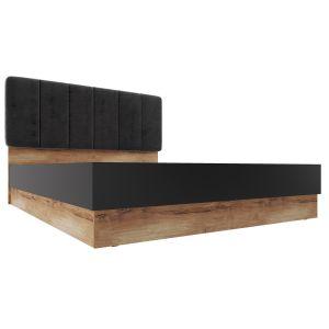 Купить Кровать АСМ-Модуль К1 160*200  с подъемным механизмом Рамона цвет кельтский дуб/черный
