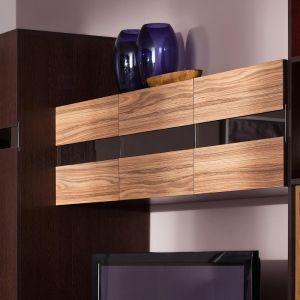 Купить Шкаф навесной ГМФ ШН1 Hyper цвет венге/палисандр