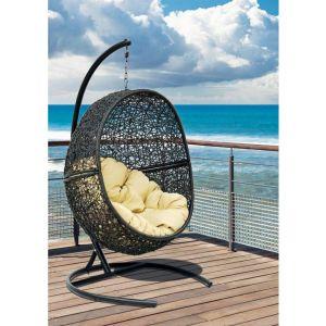 Купить Подвесное кресло ЭкоДизайн Lunar Black