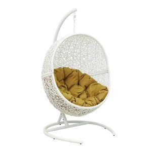 Купить Подвесное кресло ЭкоДизайн Lunar White