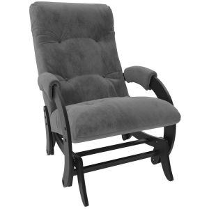 Купить Кресло-глайдер Мебель Импэкс Комфорт м.68 цвет венге/verona antrazite grey