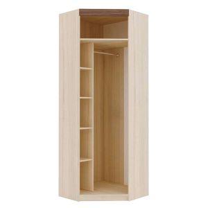 Купить Шкаф угловой Комфорт-S М4 Ева-2 цвет туя светлая/туя темная