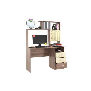 Купить Стол компьютерный Мебельсон 1200 Галерея цвет шимо темный/крем