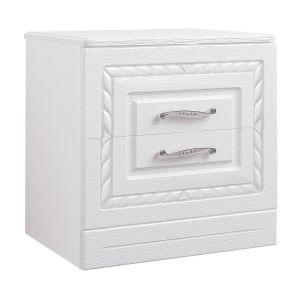 Купить Тумба прикроватная Комфорт-S М5 Гертруда цвет белая лиственница/ясень жемчужный