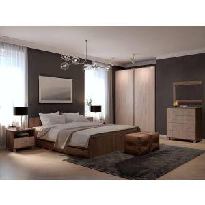 Купить Кровать Комфорт-S М7 140*200 Доминик New цвет шимо светлый