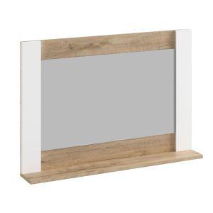 Купить Зеркало Комфорт-S М9 Ева 5 цвет дуб ирландский/белый матовый