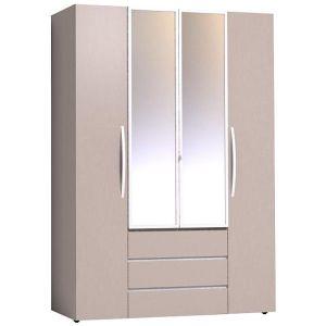 Купить Шкаф ГМФ 555 Brownie цвет мокко/белый