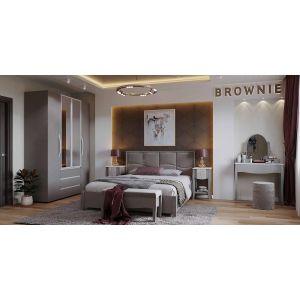 Купить Спальный гарнитур ГМФ Brownie цвет мокко/белый