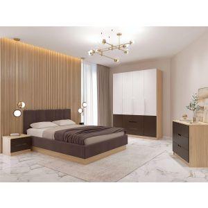 Купить Кровать Комфорт-S Илия М12 с ортопедическим основанием цвет туя светлая/ зодиак 07