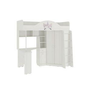 Купить Комплект детской мебели Мебельсон Фэнтези цвет белый рамух
