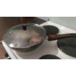 Купить Сковорода MoulinVilla Brownstone BS-28-DI-DH 28 см цвет коричневый