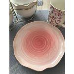 Купить Блюдо Арти М 388-564 Колор де Аква 19 см цвет розовый