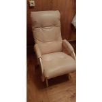 Кресло-глайдер Мебель Импэкс Комфорт м.68 цвет дуб/polaris beige
