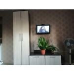 Купить Тумба под телевизор Комфорт-S ТТВ1 Джозефина цвет венге/шимо светлый
