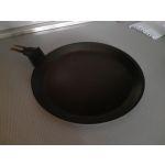 Сковорода блинная Kukmara Традиция сб200а 20 см цвет чёрный
