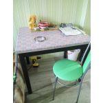Купить Стол Сакура обеденный цвет венге/шимо светлый