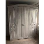 Купить Шкаф Комфорт-S М1 Гертруда цвет белая лиственница/ясень жемчужный