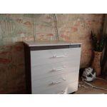 Комод Гранд Кволити 4-44300 с гладильной доской цвет бодега темный/светлый