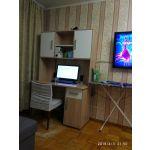 Стол компьютерный Мебельсон 1200 Лайт-1 цвет дуб сонома/белый