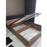 Кровать ГМФ 307 Люкс 160*200 с подъемным механизмом Neo цвет дуб табачный craft