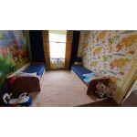 Кровать Мебельсон MDС-07 Челси цвет шимо темный/крем