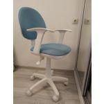 Кресло офисное Бюрократ CH-W356AXSN/15-107 голубой цвет голубой