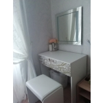 Купить Стол туалетный Leko СТ1 Селена EVO цвет белый