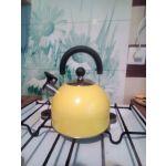 Чайник на плиту Катунь КТ-120Y цвет жёлтый