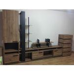 Купить Шкаф ГМФ ШМЦН1 Nature цвет дуб табачный craft/черный
