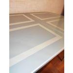 Купить Стол Кубика Портофино-1 с рисунком цвет венге/песочный