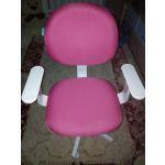 Кресло офисное Бюрократ CH-W356AXSN цвет розовый