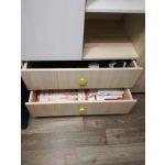 Шкаф Комфорт-S М3 Агнешка New цвет туя/белая лиственница