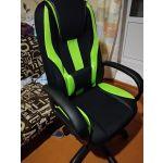 Купить Кресло компьютерное Zombie VIKING-9 цвет чёрный/красный