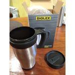 Термокружка Diolex DXM-450-1 цвет нержавеющая сталь