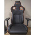 Кресло компьютерное Canyon Corax CND-SGCH5 цвет черный/оранжевый