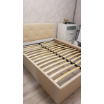 Кровать Комфорт-S Габриэль 160*200 с подъемным механизмом цвет манго 009/ромбы