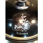 Кастрюля Kukmara Традиция к31а 22 см со стеклянной крышкой 3 л цвет чёрный
