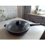 Сковорода Kukmara Традиция с263а 26 см цвет черный