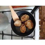 Сковорода Tefal Cook Right 04166122 22 см. цвет чёрный