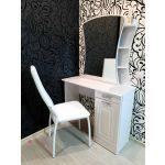 Стол туалетный Комфорт-S М6 Гертруда цвет белая лиственница/ясень жемчужный