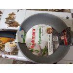 Сковорода Kukmara 24 см цвет светлый мрамор