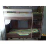 Кровать Комфорт-S М14 80*190 Доминик New цвет шимо темный/шимо светлый